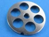 """#8 plate with 5/8"""" (16mm) holes for sausage or chili grind"""