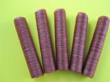 5-Pack 17mm collagen casings for snack sticks.