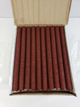 Full caddy of 19mm collagen snack stick casings.