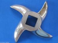 #32 size electric meat grinder knife blade cutter for Cabelas LEM Torrey etc