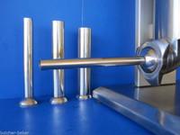 "Snack Stick tube 1/2"" (13mm) for LEM Model 606 sausage stuffer  Stainless Steel 7"" Long"