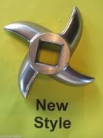 NEW STYLE #12 sz Meat Grinder Grinding knife blade for Hobart, Cabelas, LEM etc