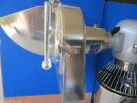 1/2: Vegetable Cheese Grater Shredder Disc for Hobart Univex mixer Pelican Head