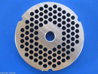 "#32  x 1/4"" (6mm) STAINLESS Meat Grinder Plate for Hobart 4332 4532 TorRey more Replacement Part 00-108582-00002"