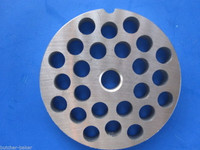#22 6 pc COMBO Meat Grinding plate disc knife cutter for Hobart Torrey LEM etc