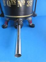 """SLIM 3/8"""" (9mm) tube Sainless Steel sausage stuffer tube funnel for Enterprise press"""