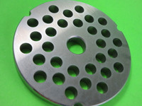 "Size #42 x 1/2 "" AND KNIFE Meat Grinder Disc Plate for Cabelas, Hobart, Weston etc"