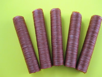 5-Pack 19 mm collagen casings for snack sticks.