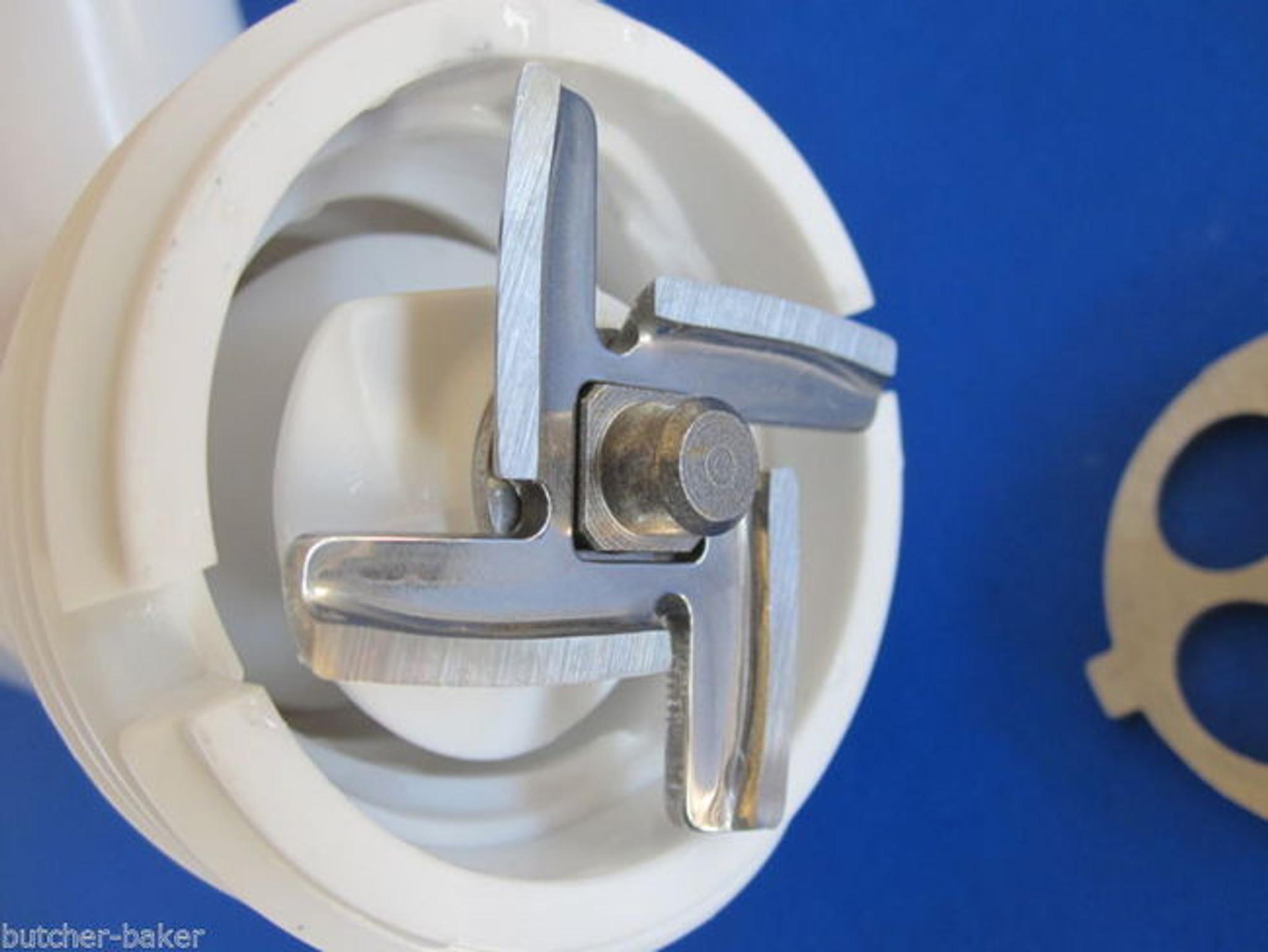 5 Pc Set Meat Grinder Plates Amp Knife For New Fga