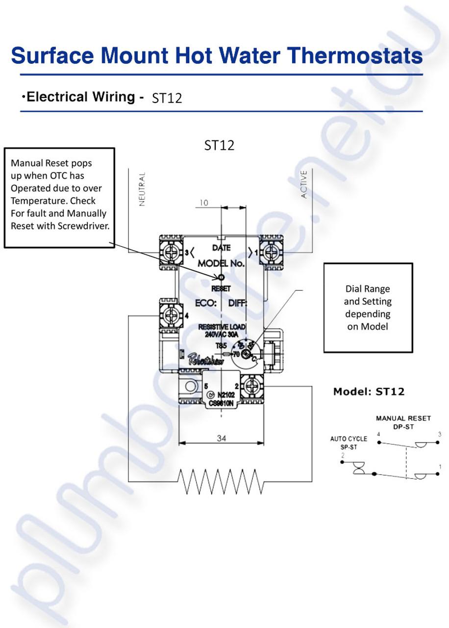 wiring diagram robertshaw thermostat online wiring diagramhot water thermostat robertshaw st 12 70k st part st1203133 comfortmaker thermostat wiring diagram robertshaw st