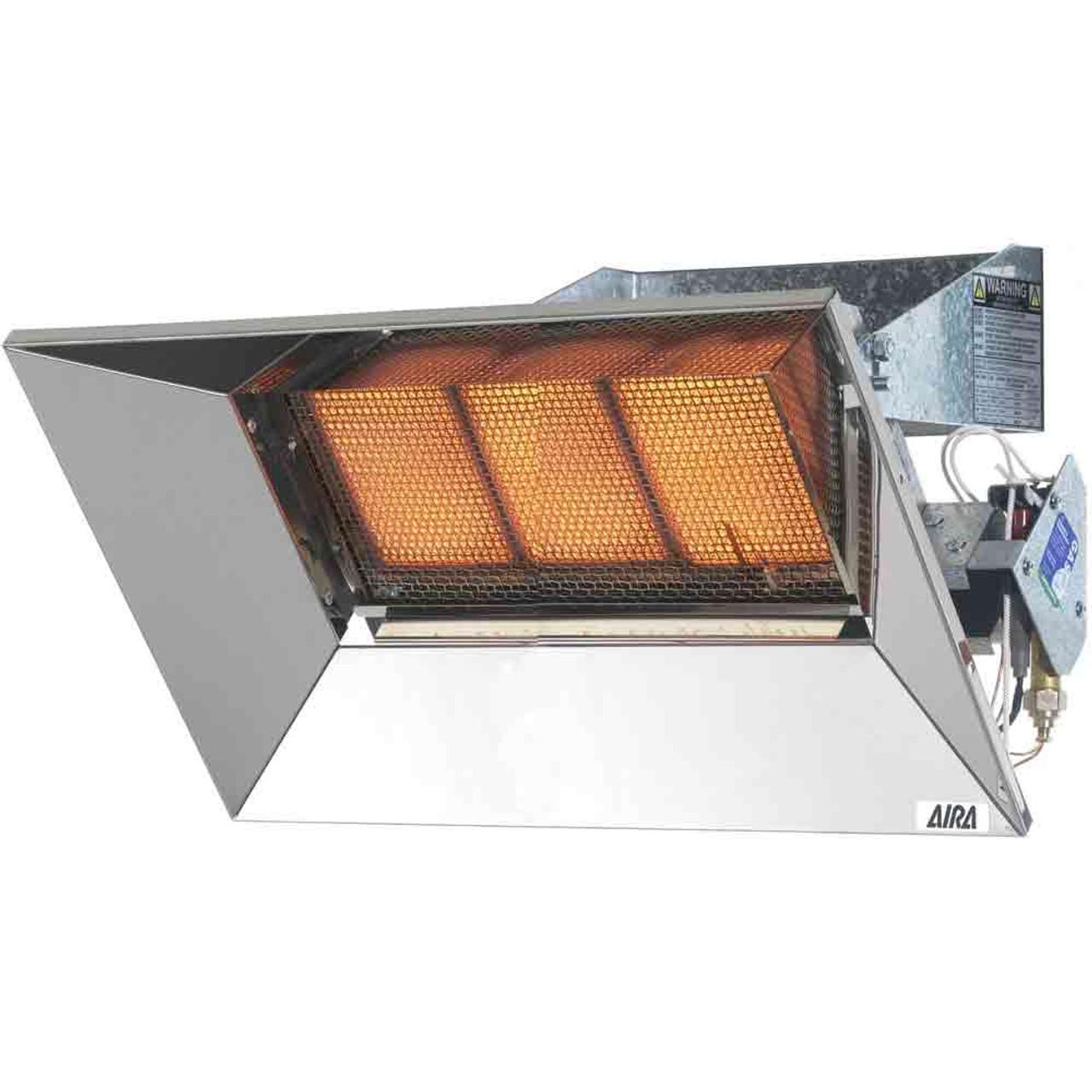 Gas Heater Indoor Outdoor Aira Super Ray Infra Red 7kw Lp