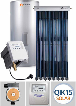Solar Hot Water Parts Evacuated Tube And Flat Plate Systems