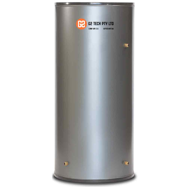 G2TECH 250Lt Tall Wet Back Hot Water Heater Stove Cylinder Electric