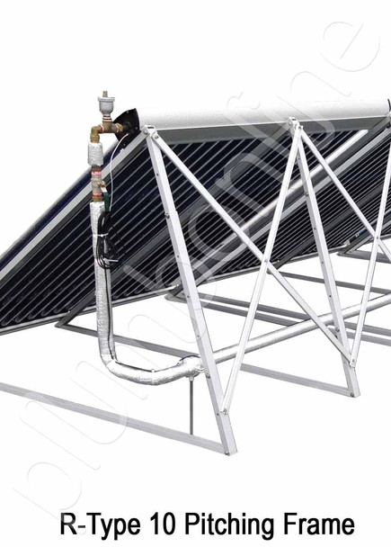 Pitching Frame suitable for evacuated tube solar collectors Anodised ...