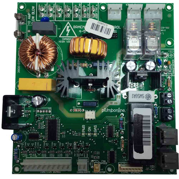 Circuit Board Braemar BSC 5 Star PCB Full Modulating for Ducted Heaters
