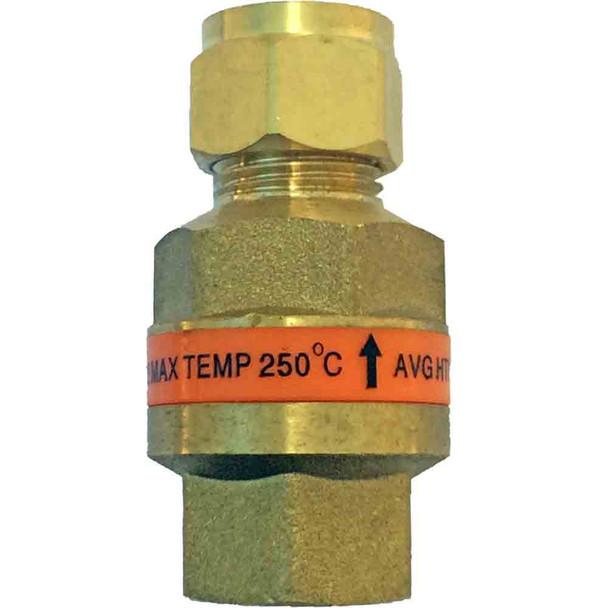 AVG Non Return Valve High Temp for Solar Hot Water - NVHT-15F-15C