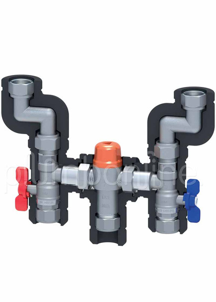 Quickie 506 Instantaneous Gas Continuous Flow Hot Water Kit 20mm Universal