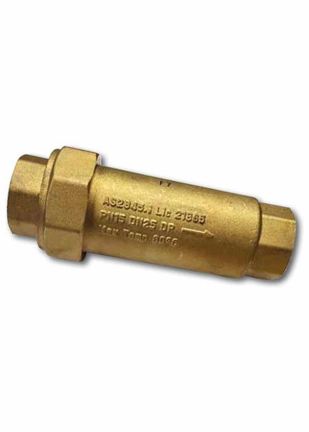 AVG Dual Check Valve 25mm Female x Female