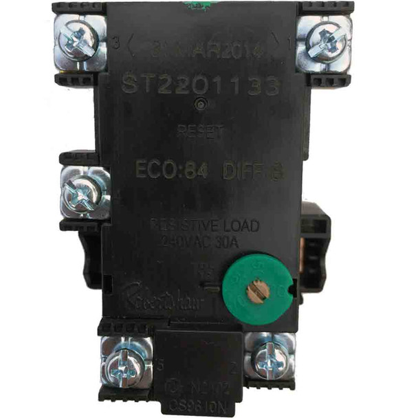 Electric Hot Water Heater Thermostat Robertshaw ST22-80K Dual Element 50 - 70 Degrees C