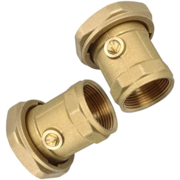 Grundfos Bronze Ball Valve Union Set 25mm Female - UP or UPS25 or Alpha+25