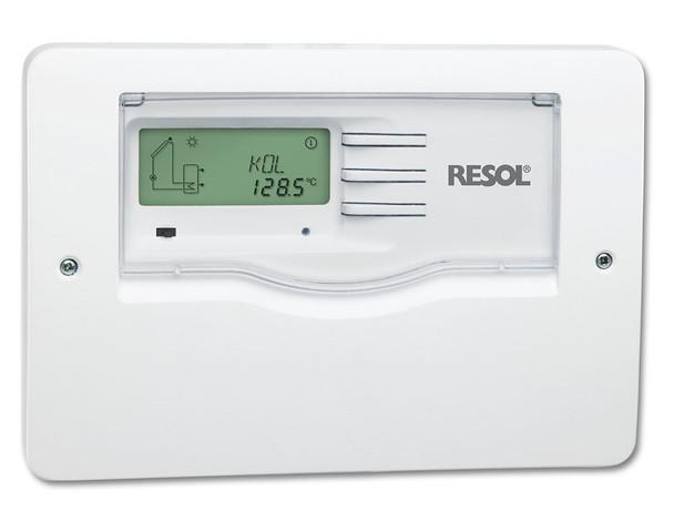 Resol DeltaSol AL solar hot water differential controller - Front Panel