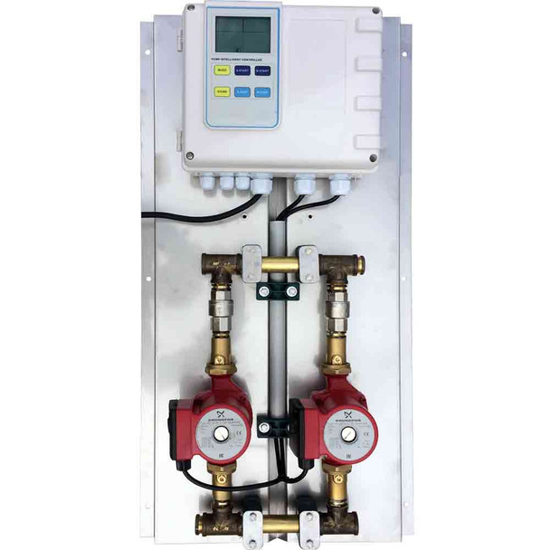 2 pump G2 TECH Commercial hot water dual ring main circulators 20-60N