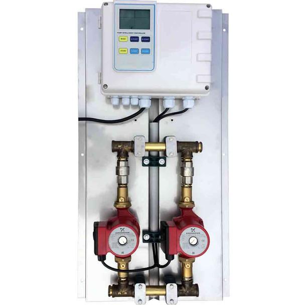 2 pump - G2 TECH Commercial hot water dual ring main circulators 32-80N