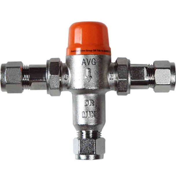 Tempering Valve 15mm Solar & Instantaneous Hot Water Systems
