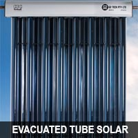 evacuated tube solar