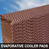 evaporate cooler pads