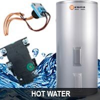 hot water