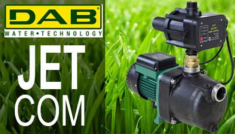 DAB Jetcom Water Pumps