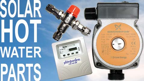 Solar Hot Water Replacement Parts