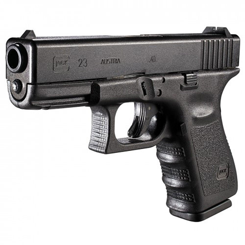 Glock 23 Gen 3, 40 S&W, 10 Rounds, On CA Roster