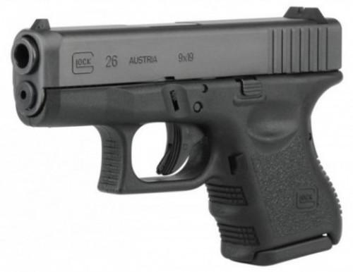 Glock 26 Gen 3, 9mm 10 rnd, On CA Roster