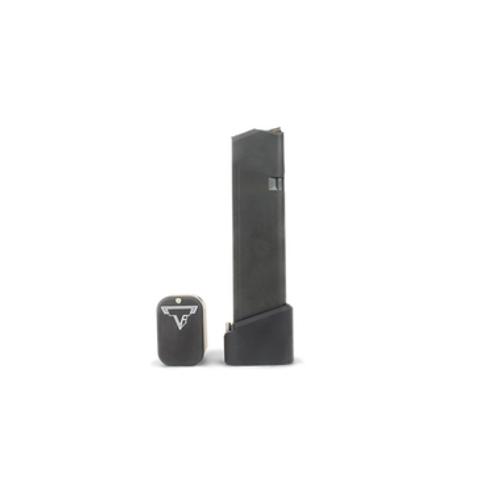 TTI Glock 17 10rnd Mag w/Extended Base Pad