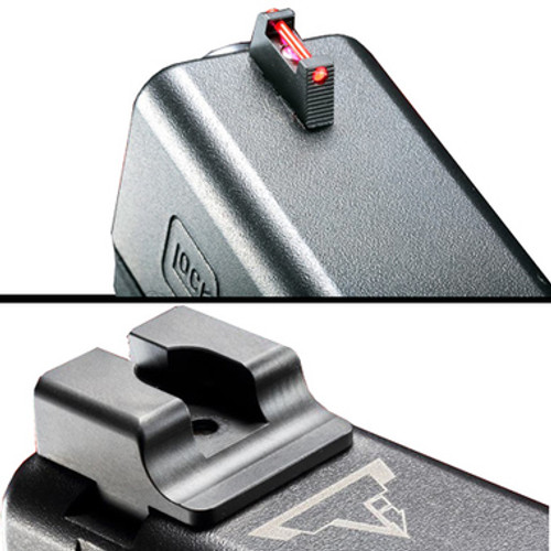 TTI Fiber Optic Sight Set - Glock