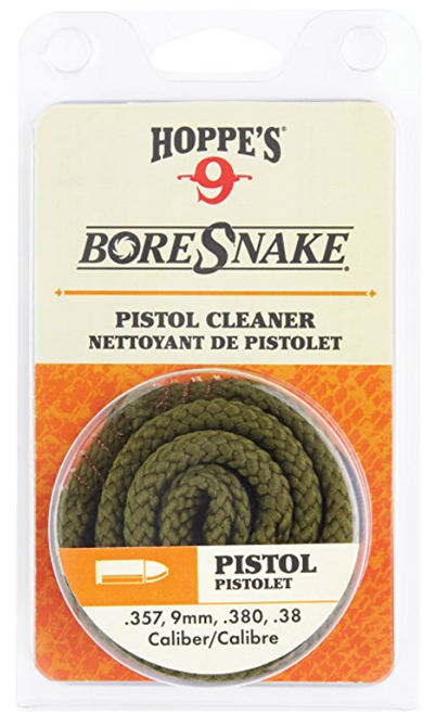 BoreSnake Pistol Cleaner - .357, 9mm, .380, .38