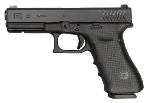 GLOCK 22 RTF .40S&W CURVED SERRATIONS W/NIGHT SIGHTS!