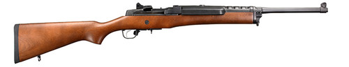 RUGER MINI 14 WOOD STOCK BLUED 5.56 NATO