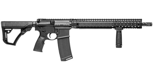 DANIEL DEFENSE DDM4V9 BLACK 5.56 FIXED MAG RIFLE