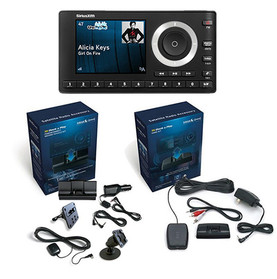 SiriusXM Onyx Plus with vehicle and home kits