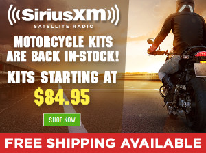 Enjoy SiriusXM Radio on Your Motorcycle