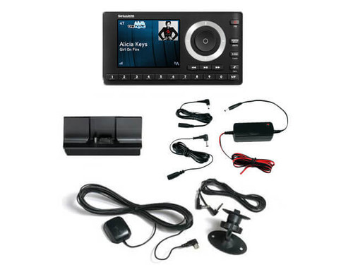 SIriusXM Onyx Plus receiver with hardwired car kit
