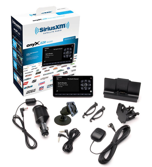 SXEZR1V1 SiriusXM Radio OnyX EZR Satellite Radio Receive with Vehicle Kit