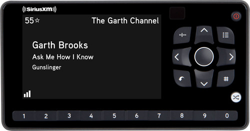 SiriusXM Satellite Radio Dock and Play OnyX EZR Receiver