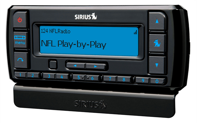 Sirius Stratus 7 Receiver with Car Kit