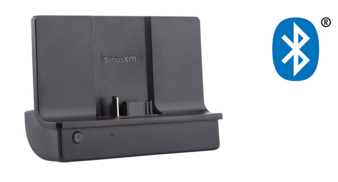 SiriusXM™ Satellite Radio Bluetooth Vehicle Docking Station