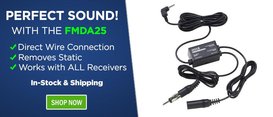 Sirius XM Radio FMDA25 Audio Adapter