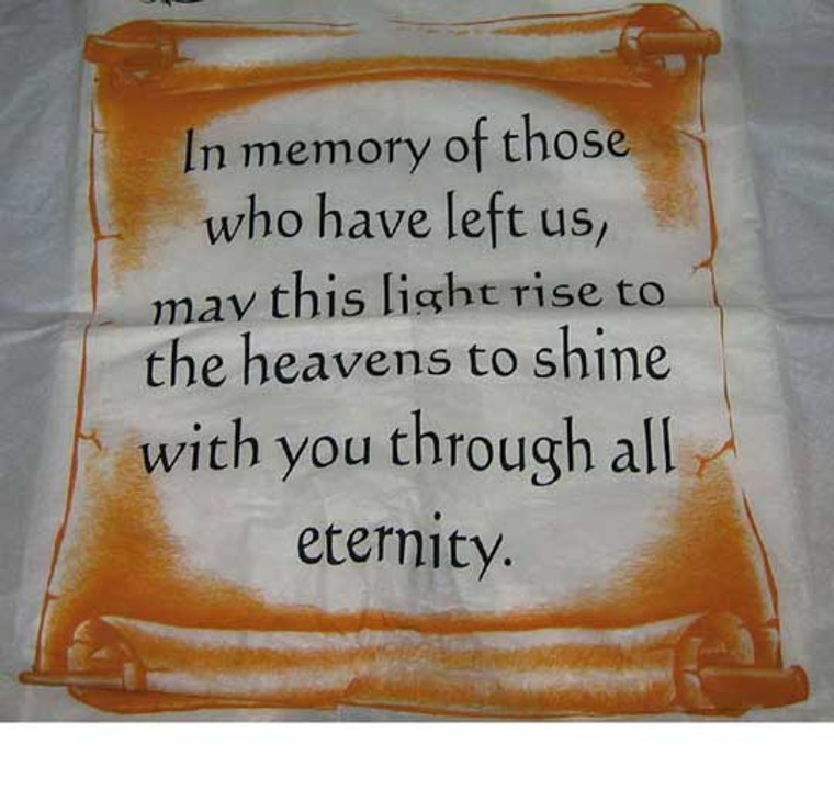 In Memory Of Sky Lanterns
